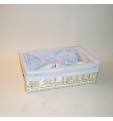 Canastilla azul 43x29x13 cm
