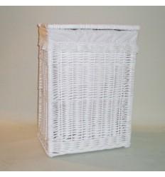 Ropero de mimbre rectangular