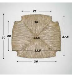 Repuesto de enea con forma N-3