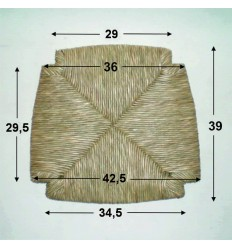 Repuesto de enea con forma N-6