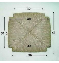 Repuesto de enea con forma N-7
