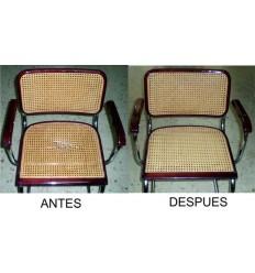 Reparación silla de rejilla