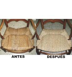 Reparación sillón de enea