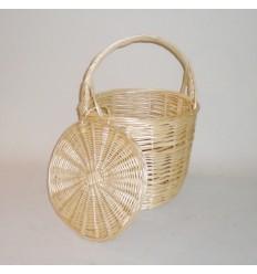 Bolso/cesta Birkin con tapa