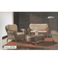Conjunto LUCIA c/tapiceria