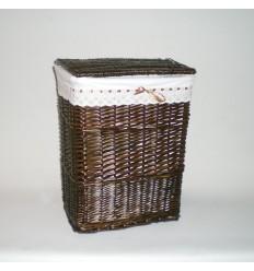Ropero rectangular pequeño nogal lazo
