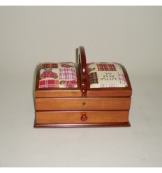 Costurero de madera un cajón ositos