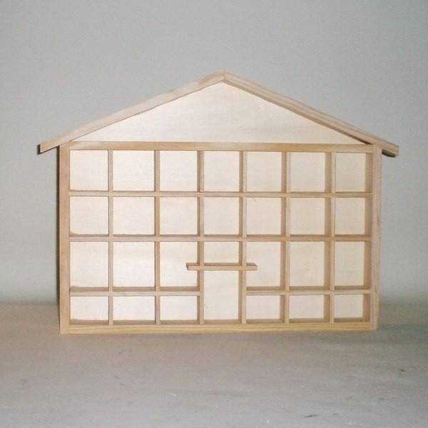 Comprar casita para colgar miniaturas de colecci n o - Vitrinas para miniaturas ...