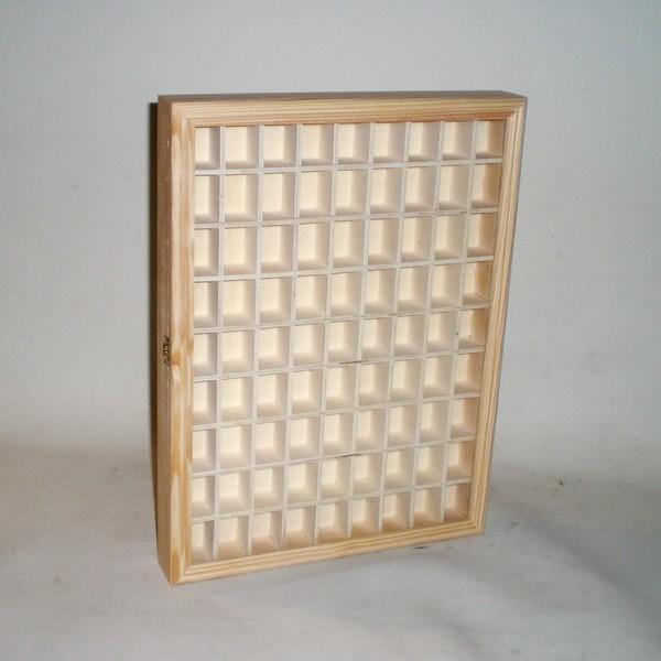 Comprar caja para miniaturas o dedales colecci n en - Vitrinas para miniaturas ...