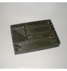 Cubertero color nogal