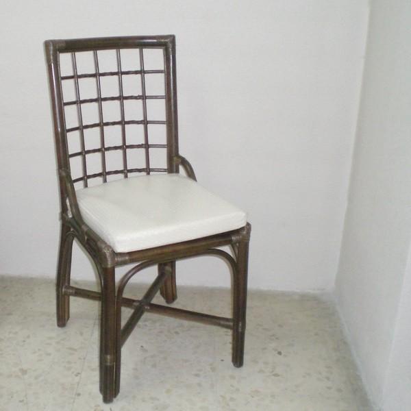 Comprar silla ca a de comedor color nogal en - Compro sillas de comedor ...