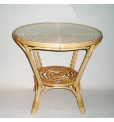 Mesa de caña modelo ESPIRAL