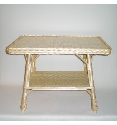 Mesa revistero rectangular color natural