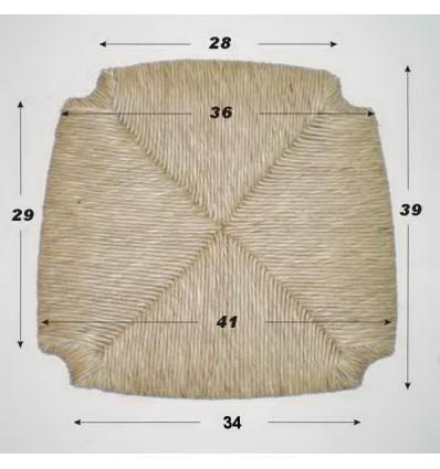 Repuesto de enea con forma N-1