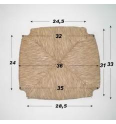 Repuesto de enea con forma N-2