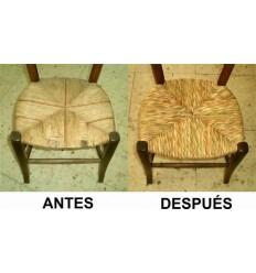 Tejido de silla de enea