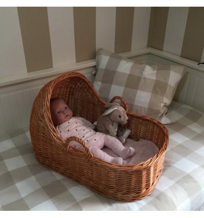 Capazo con capota para bebé REBORN