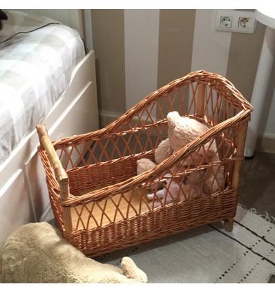 Cuna rectangular para bebé REBORN