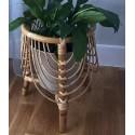 Macetero bambú natural